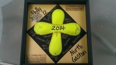 Senior softball gift