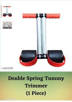 Checkout this latest Other Wellness Products Product Name: *Double Spring Tummy Trimmer Red & Black * Easy Returns Available In Case Of Any Issue   Catalog Rating: ★4.1 (5195)  Catalog Name: Essential Health Products Vol 4 CatalogID_360275 C125-SC1392 Code: 552-2663985-384