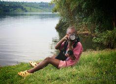 TJ with my Camera #Rwanda #kwizerahope