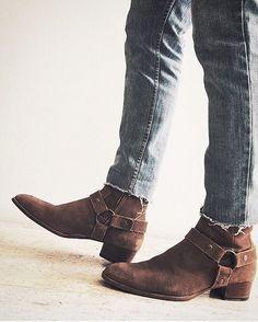 Saint Laurent boots - PREACHER STYLES