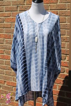 Tie Dye Tunic/Cover-Up