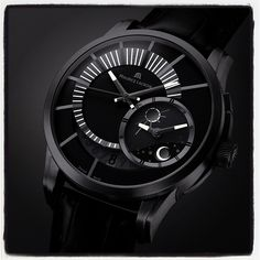 Winning #watch of the 2007 Red Dot Design #Award: Pontos Décentrique GMT