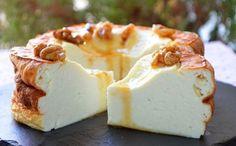 Gâteau à la ricotta, au miel, à la vanille, à la cannelle et au citron