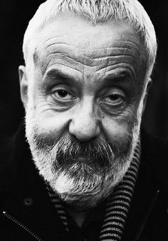 Mike Leigh (1943) - English writer and director of film and theatre. Photo by Carla Orrego Veliz