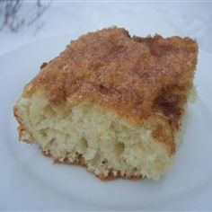 Butter Cake with Cinnamon Topping @ http://allrecipes.com.au