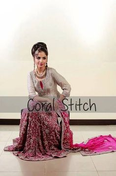 Coral Stitch Bridal And Formal Wear Collection 2013 For Women