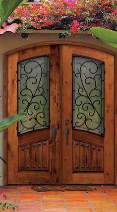 LOVE the double front door!!