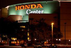 Honda Center, Anaheim, California Anaheim California, Product Photography, Honda, Broadway Shows, Editorial, Neon Signs
