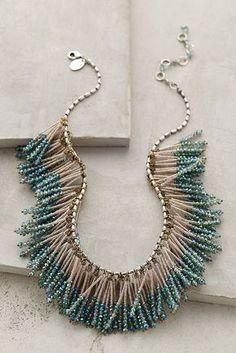 Tutorial DIY Bijoux et Accessoires Image Description 24 Swoon-Worthy Statement Necklaces for Every Budget | Brit + Co