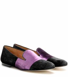 Slipper in velluto | Dries Van Noten