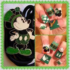 St Patty's day Minnie and Mickey by Oli123