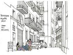 Gerard Michel | Carrer dels Mercaders | Barcelone 2013
