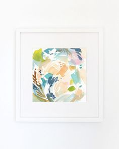 Entertained+Colors++Watercolor+Art+Print+by+YaoChengDesign+on+Etsy
