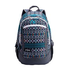 Uniker Middle School Student Fashionable Light Backpack Large Space School Bag National Style >>> Check this awesome product by going to the link at the image.