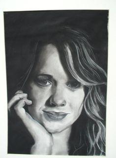 #charcoal #portrait