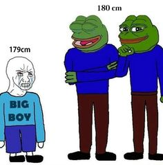This is how I feel with my 179cm of height
