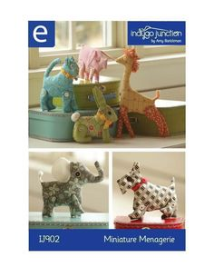 Miniature Menagerie ePattern