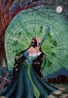 Mother Earth Print by SodomAndGomorrah on Etsy, $25.00