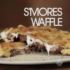 S'mores Waffle