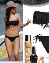 Nice fringe bikini.