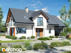 Dom w wetiweriach Home Fashion, Cabin, Mansions, House Styles, Home Decor, House 2, Decoration Home, Room Decor, Cabins