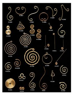 Scrolls 3 | A & J Tool & Findings Company, Inc.A & J Tool & Findings Company, Inc.                                                                                                                                                      More