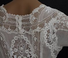 Irish Lace. Pinned From LaceTextiles