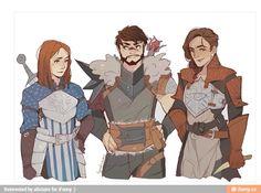 Warden Hawke Inquisitor