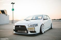 Evo D2 RS Coilovers Falken 225/40/18 MB Battle 18×9.5 +15 GTSPEC Front Strut Bar Whiteline Rear Camber Kit CUSCO Full Underbody Power Braces