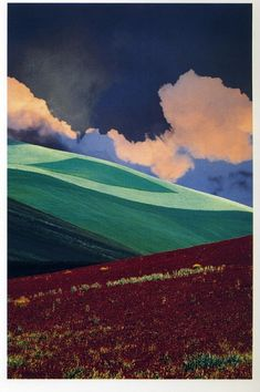 Franco Fontana lovely composition and colours... again simple but absolutely beautiful