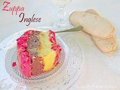 ZUPPA INGLESE ricetta dolce al cucchiaio
