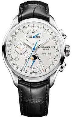 Gifts For A 50 Year Old Man S Baume Mercier Mens Clifton