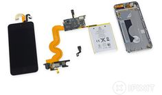 Teardown of New 16 GB iPod Touch Reveals Same Internals and Layout as Larger Capacity Models