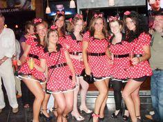 Minnie Mouse fancy dress hen party
