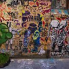 Stencil madness by darkydoors