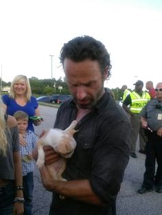 Walking dead star Andrew Lincoln #gasp #cutest #andrewlincoln