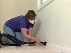 Prepping your walls is the single most important step before painting, but most do-it-yourselfers don't prep their walls properly. Follow these simple, but essential steps for stripping, cleaning, patching and priming your interior walls. For this project you will need a plastic drop cloth, canvas drop cloth, newspaper, painters tape, plastic ba...
