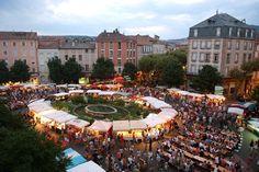 Les marchés nocturnes dans l'Aveyron : Fermiers de l'Aveyron à Millau