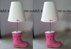 Une lampe de chevet botte #LampDeChevet