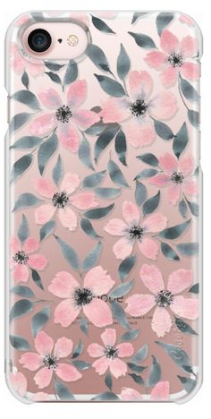 Casetify iPhone 7 Snap Case - Spring flowers watercolor n.6 by Psychae