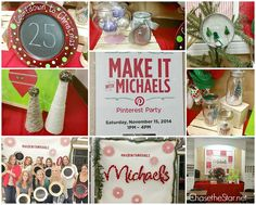 Make It With Michaels Holiday Pinterest Party Sneak Peek!