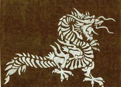 Dragon. Pencil
