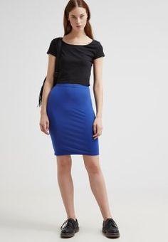 Zalando Essentials - 2 PACK - Spódnica ołówkowa - black/ blue