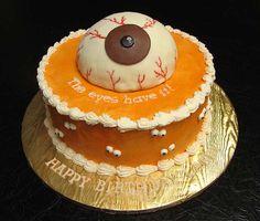 The eyes have it! Happy Birthday cake