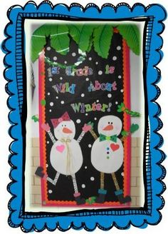 If you have a jungle themed classroom, this adorable bulletin board design from Christie at First Grade Fever is the perfect winter compliment! Christmas Bulletin Boards, Bulletin Board Design, Winter Bulletin Boards, Bulletin Board Display, Classroom Bulletin Boards, Classroom Fun, Display Boards, Classroom Crafts, Preschool Bulletin
