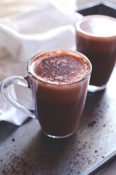 Raw cacao makes a lovely hot raw chocolate and I like to add some cardamom and cinnamon, spices that make the drink even more warming. Healthy Hot Chocolate, Raw Chocolate, Cocoa Recipes, Ice Cream Recipes, Paleo Dessert, Dessert Recipes, Cuban Coffee, Raw Cacao, Health Desserts