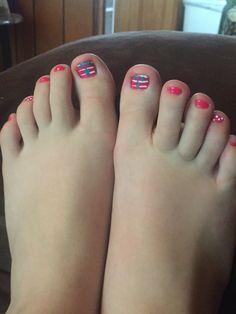 Beach Nails, Pedicure, Feet Nails, Women, Pedicures, Toe Polish, Toenails