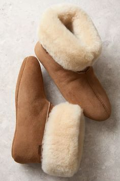 Sheepskin Slippers Orange kids natural sheepskin slippers fur w Soft Italian Leather and light pink Dyed Real Sheeskin Fur ontop