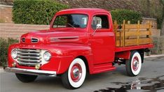 1950 FORD STAKEBED PICKUP