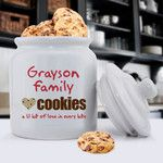 JDS Personalized Gifts Personalized Gift Family Cookie Jar & Reviews | Wayfair